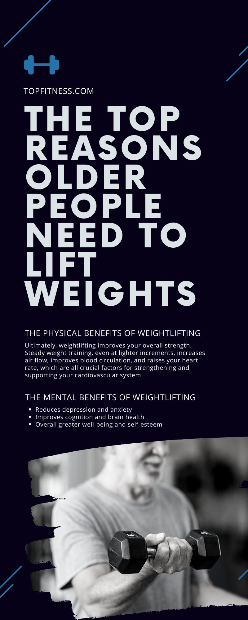 The Top Reasons Older People Need To Lift Weights