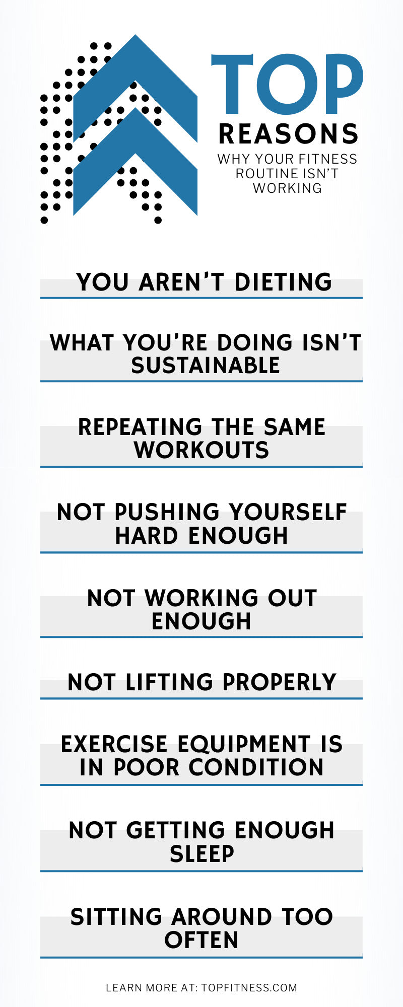 Top Reasons Why Your Fitness Routine Isn't Working