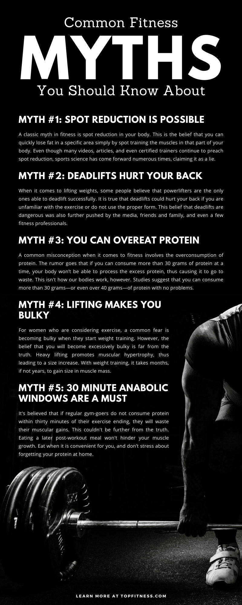 Common Fitness Myths You Should Know About