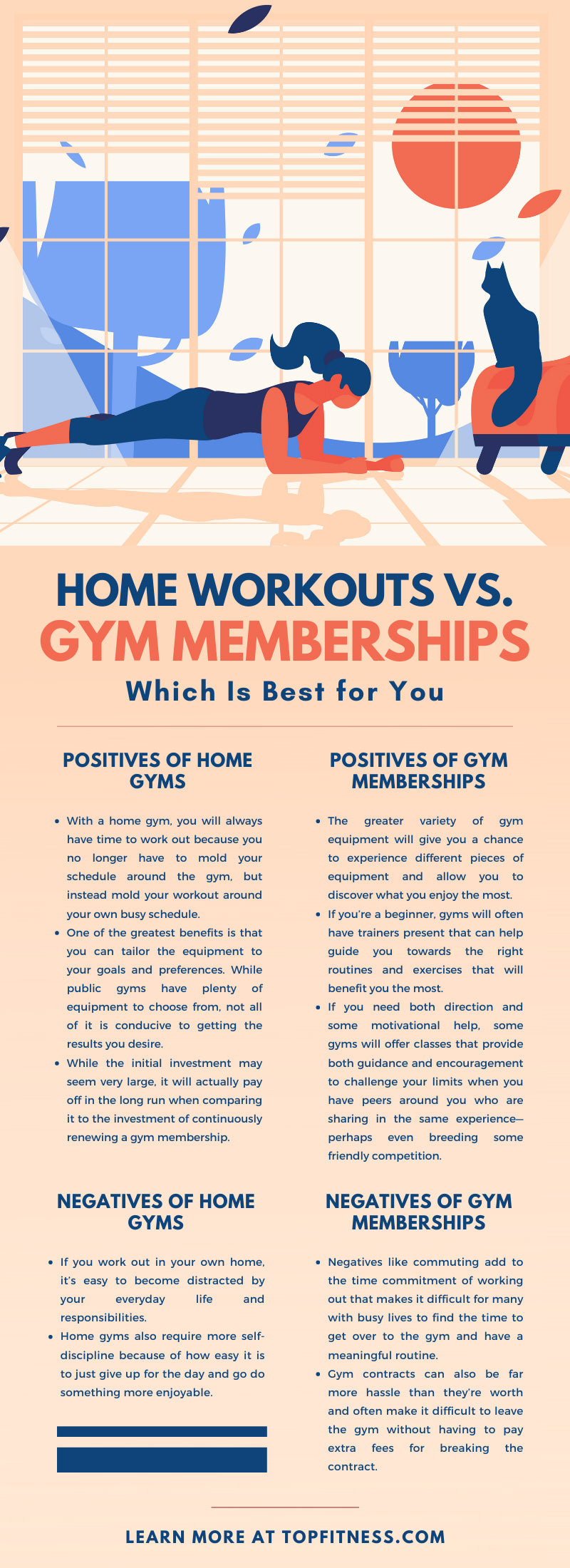Home Workouts vs. Gym Memberships: Which Is Best for You