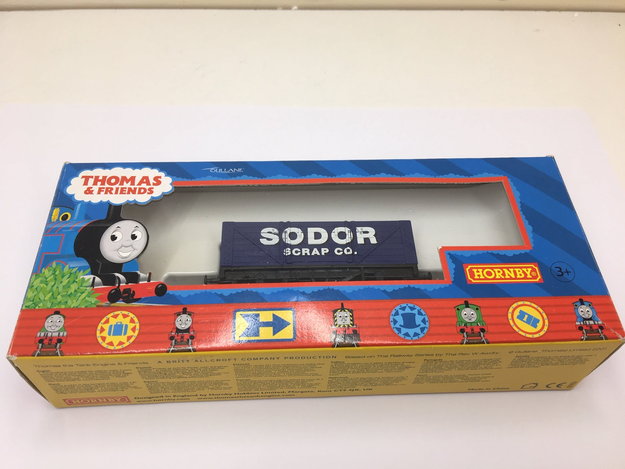 HORNBY THOMAS TANK WAGON  'SODOR  SCRAP CO'