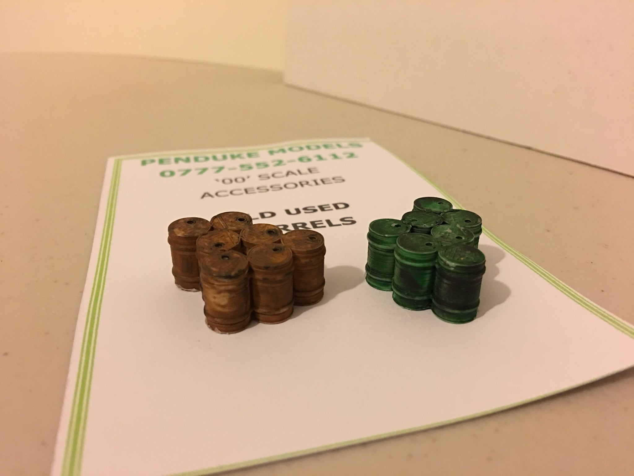 'OLD BARRELS' 3D PRINTED '00'