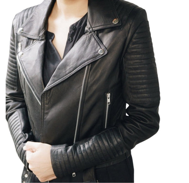 Hadley Handmade Leather Jacket Black