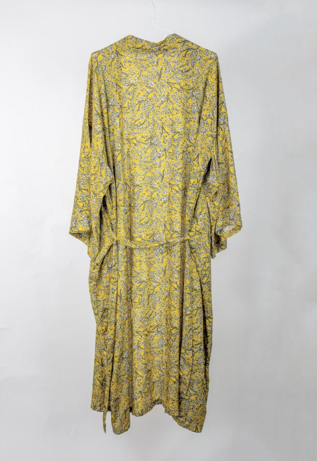 Yellow Paisley Robe