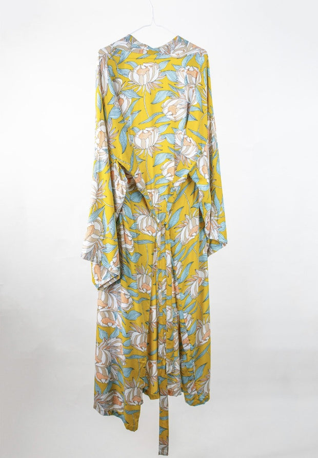 Sunshine Flora Robe