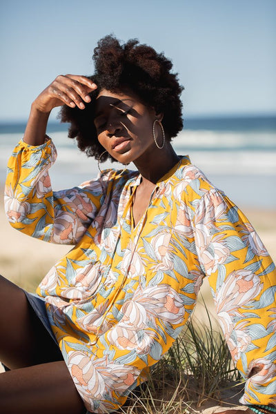 Sunshine Flora Top