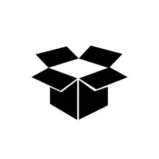Wholesale Gift Order Shipping policy with black box icon