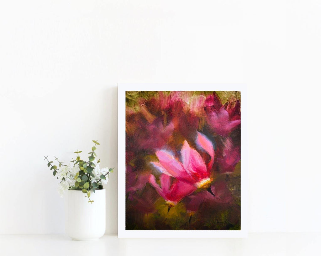 """Shooting Star Duo"" - Wildflower Wall Art Print"