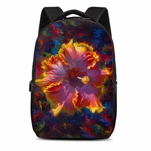 Tropical Hibiscus Laptop Backpack
