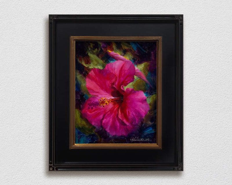 Tropical Hibiscus Flower - Vibrant Hawaiian Wall Art Canvas