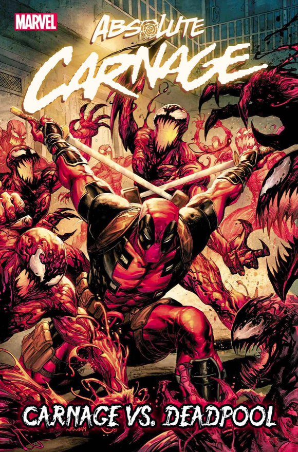Absolute Carnage vs Deadpool #1 signed
