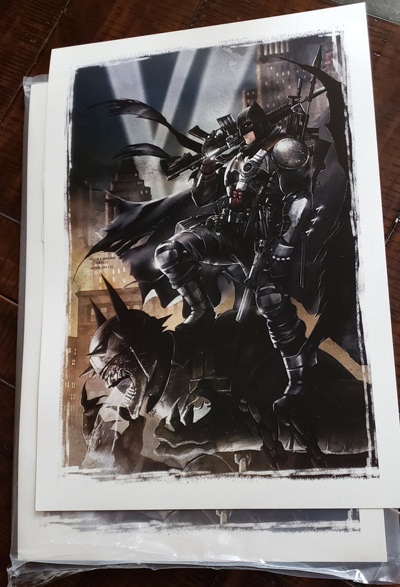 Batman who laughs, Grim knight premium lithograph.