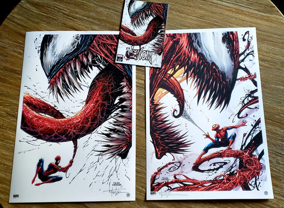 VENOM Limited Oversized premium format signed lithograph