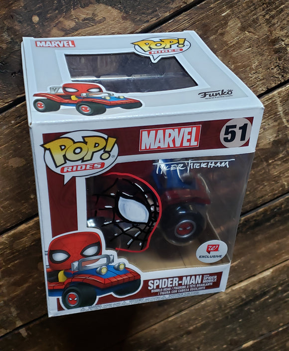 Spider-Man Spider buggy Funko pop.
