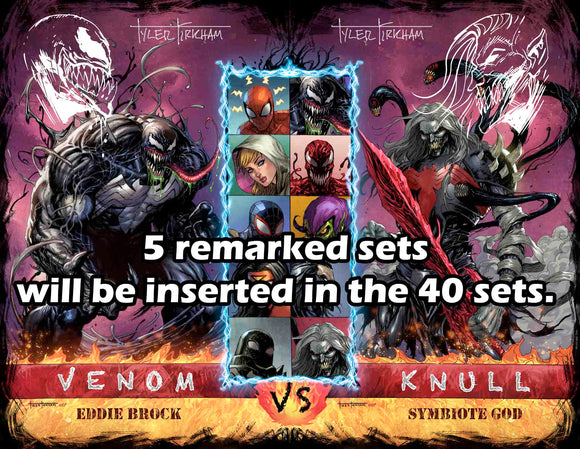 Venom 32 and 33 connecting sets, Chance to score free remarks.