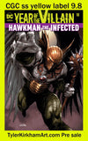 Hawkman 18 special acetate double cover
