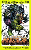 Immortal Hulk with Great power #1 cover set