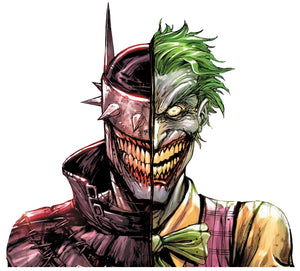 Batman who laughs/Joker sticker
