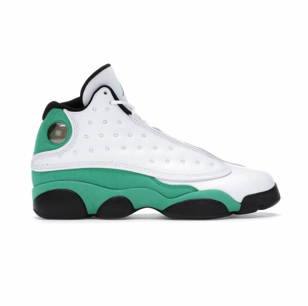 Jordan 13 Retro White Lucky Green