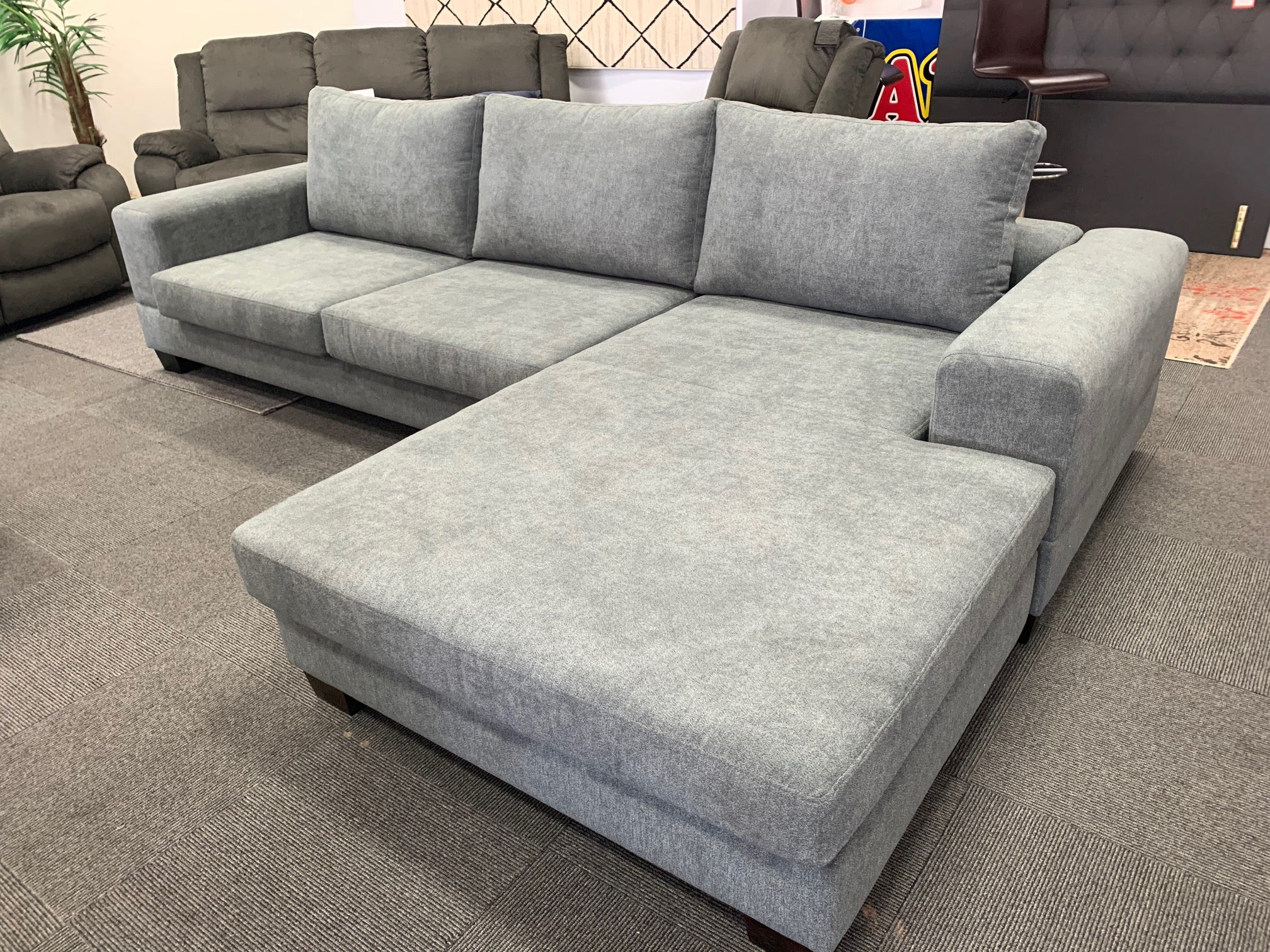 Calais Customisable 3.5 Seater Sofa Reversible Chaise