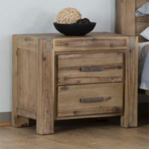 Acacia Bedside table