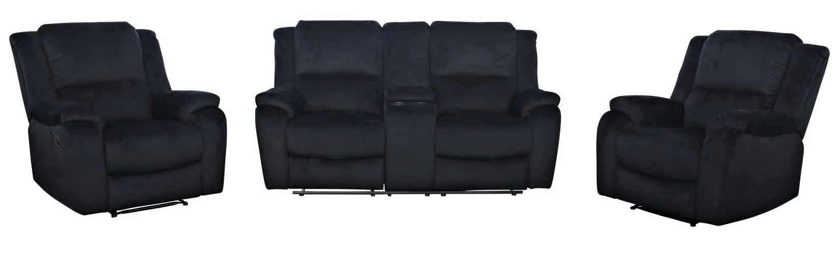 Austin 2 Seater Recliner Lounge