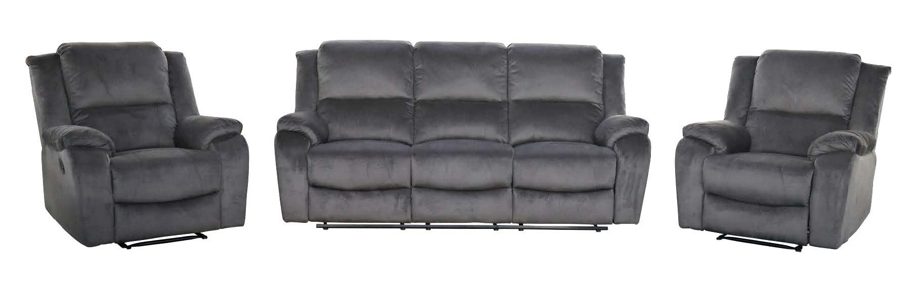 Austin 3 Seater Recliner Lounge Suite