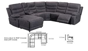 Brookmont Corner Recliner Lounge