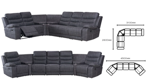 Brookmont Recliner Modular Theatre Lounge