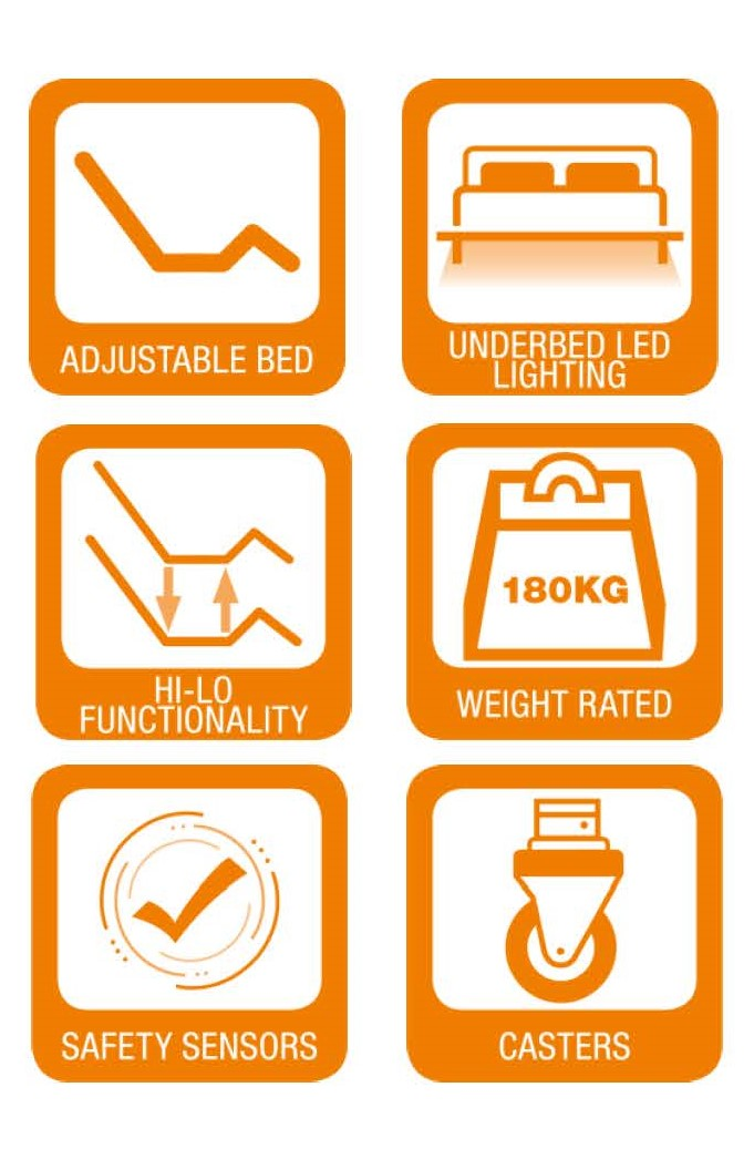 Hi Lo Flex Adjustable Electric Bed