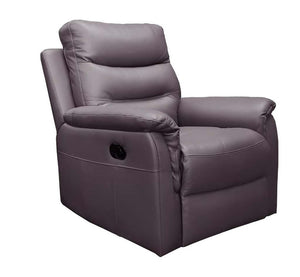 Open image in slideshow, Milano Leather Lounge Single Recliner