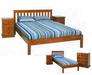 Solid Pine Bed Super Strong
