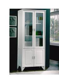 Open image in slideshow, Glass Display Cabinet White