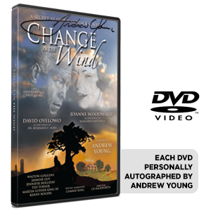 Autographed Change in the Wind - DVD