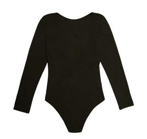 The SALON Bodysuit | Designed by LOOT Forever | Black | NALU