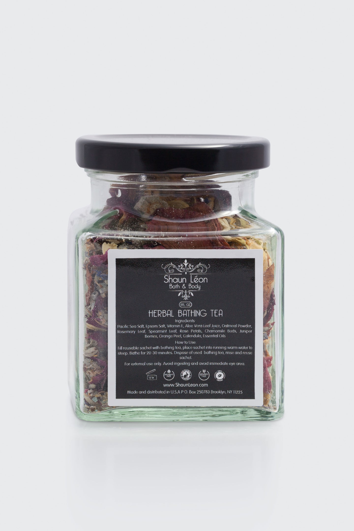 Herbal bath tea for relaxing baths  from natural products