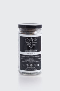 Soothing  Bath Salt Soak - Shaun Leon Beauty