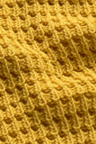 MASAI FENDA YELLOW KNITTED TOP