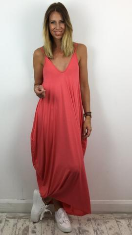 STUDIO STRAPPY MAXI DRESS