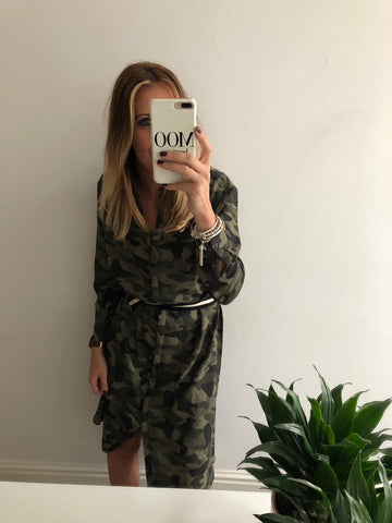 SAINT TROPEZ CAMOUFLAGE DRESS