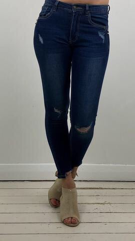STUDIO RIPPED JEANS
