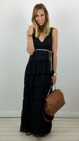 TRAFFIC PEOPLE MAXI RARA DRESS
