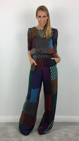 ANONYME MANUELA MULTICOLOURED TOP