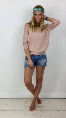 SAINT TROPEZ FINE KNIT TOP