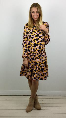 MSCH COPENHAGEN MONROE PRINTED SMOCK DRESS