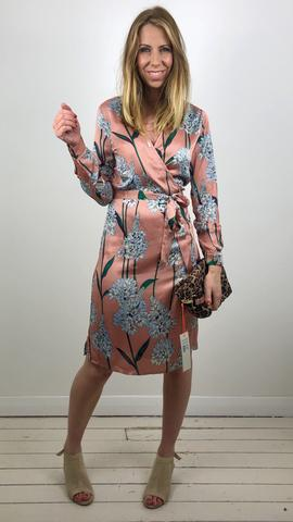 SOFIE SCHNOOR WRAP DRESS