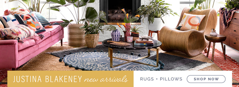 Justina Blakeney - New Arrivals - Rugs & Pillows