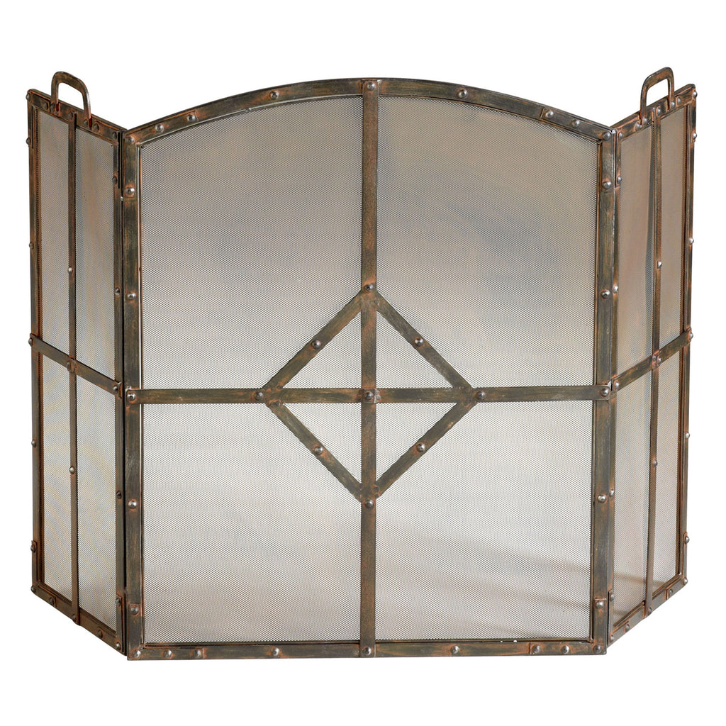 Cyan Design Lincoln Fireplace Screen