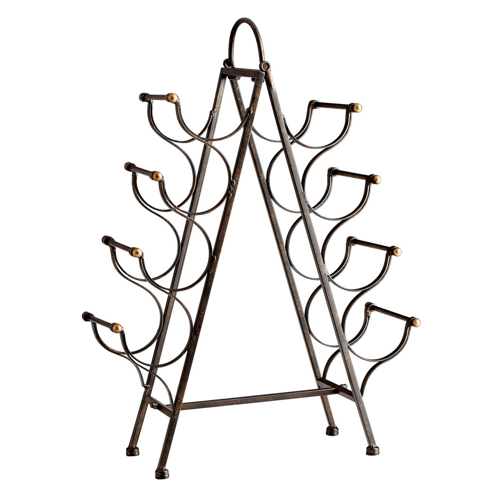 Cyan Design Riesling Tower Wine Rack
