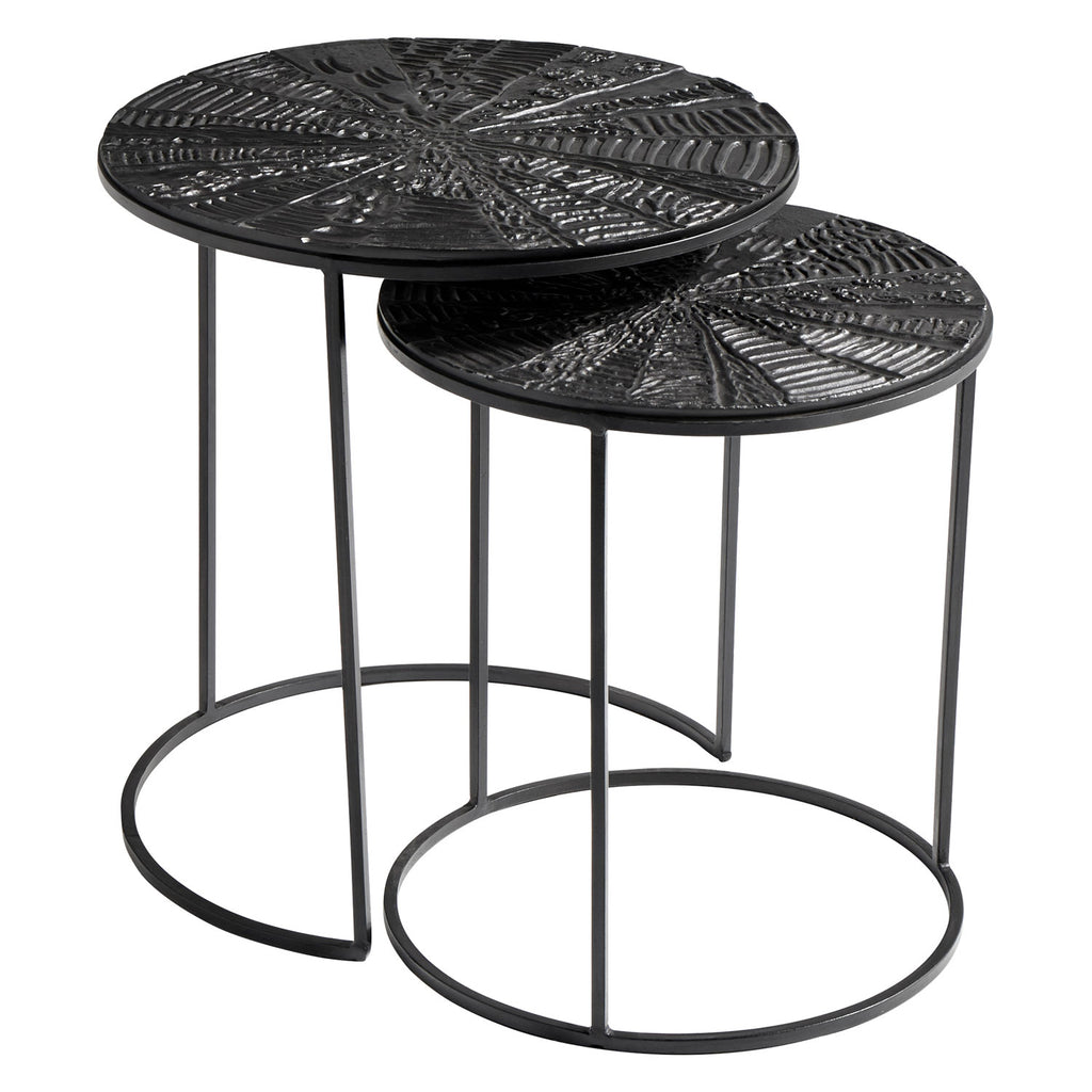 Cyan Design Quantum Nesting Side Table Set of 2